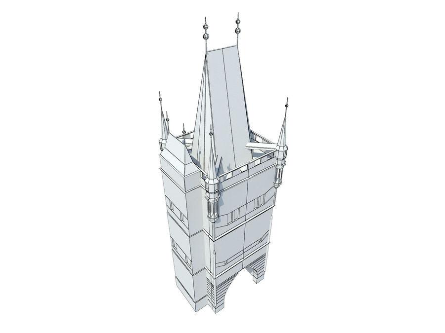 Vieux pont de Prague royalty-free 3d model - Preview no. 6