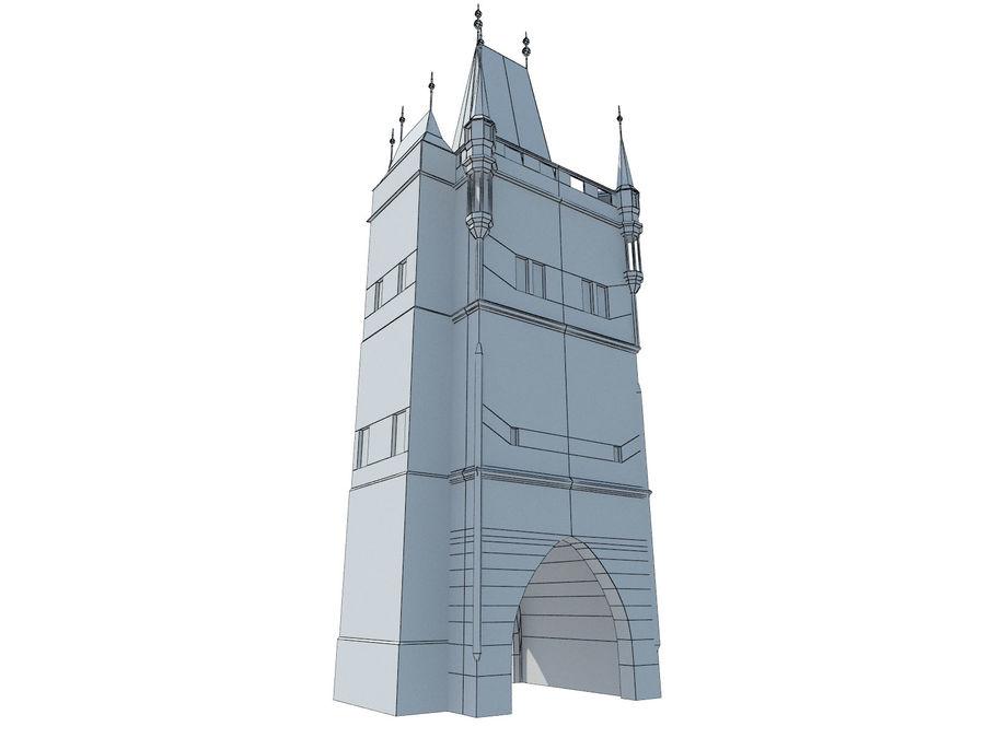 Vieux pont de Prague royalty-free 3d model - Preview no. 4