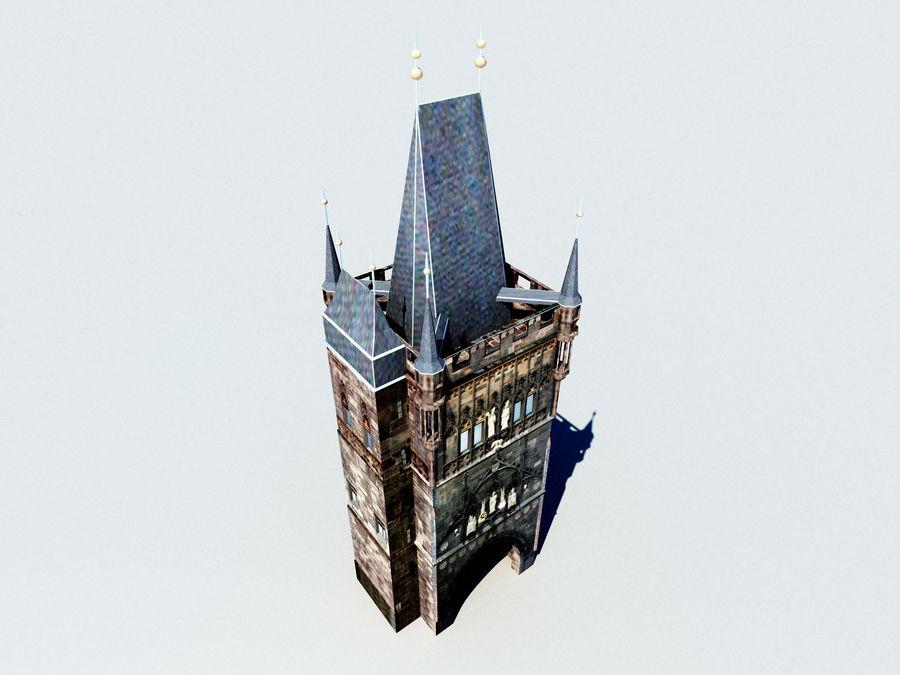 Vieux pont de Prague royalty-free 3d model - Preview no. 3