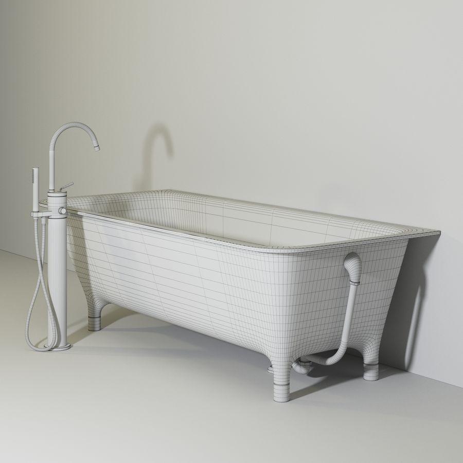 Zucchetti kos MORPHING VASCA royalty-free 3d model - Preview no. 6