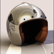 Jet Helmet 3d model