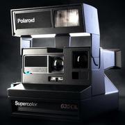 Polaroid 635CL Instant Camera 3d model