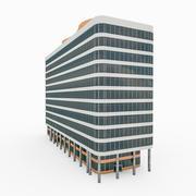 Городское Офисное Здание 1 3d model