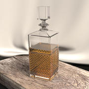Single Whiskey Decanter 3d model