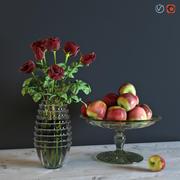 Rozen Met Appels 3d model