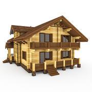木原木松屋 3d model