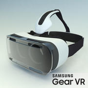 Samsung Gear VR Headset High Poly 3d model