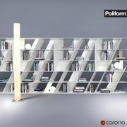 "Poliform-"" Web图书馆"" 3d model"