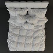Bed - Sugar(1) 3d model