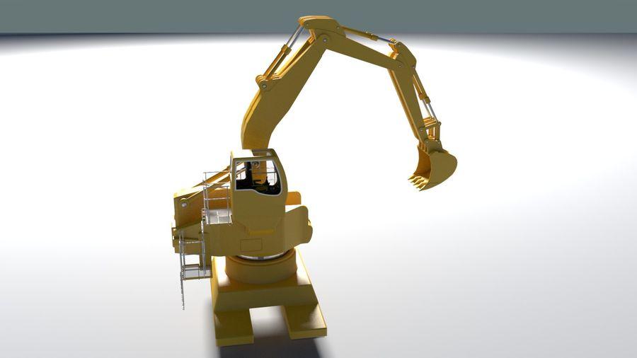Graver royalty-free 3d model - Preview no. 11