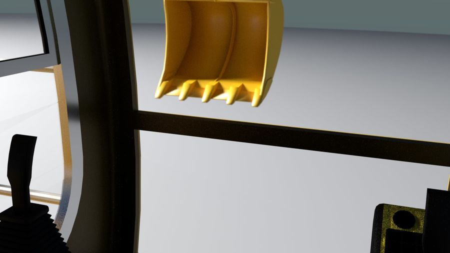 Graver royalty-free 3d model - Preview no. 12