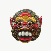 Tanrı Maskesi (3 renk) 3d model