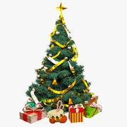 Weihnachtsbaum plus Geschenke 3d model