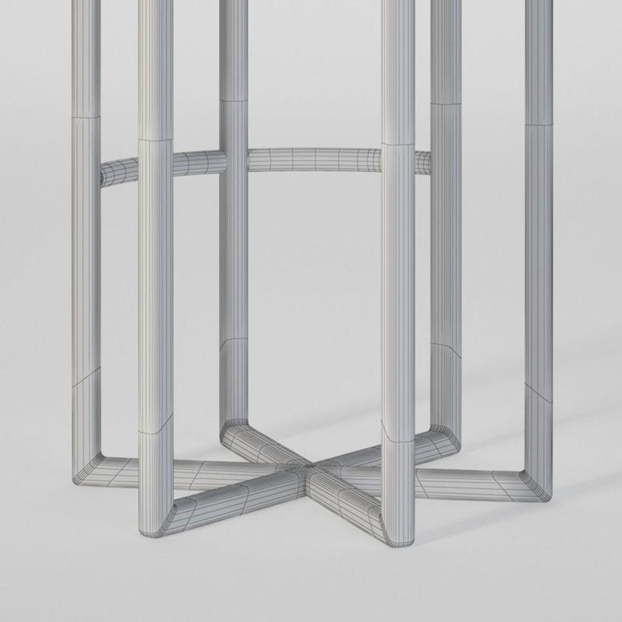 Astra bar sandalyesi royalty-free 3d model - Preview no. 9