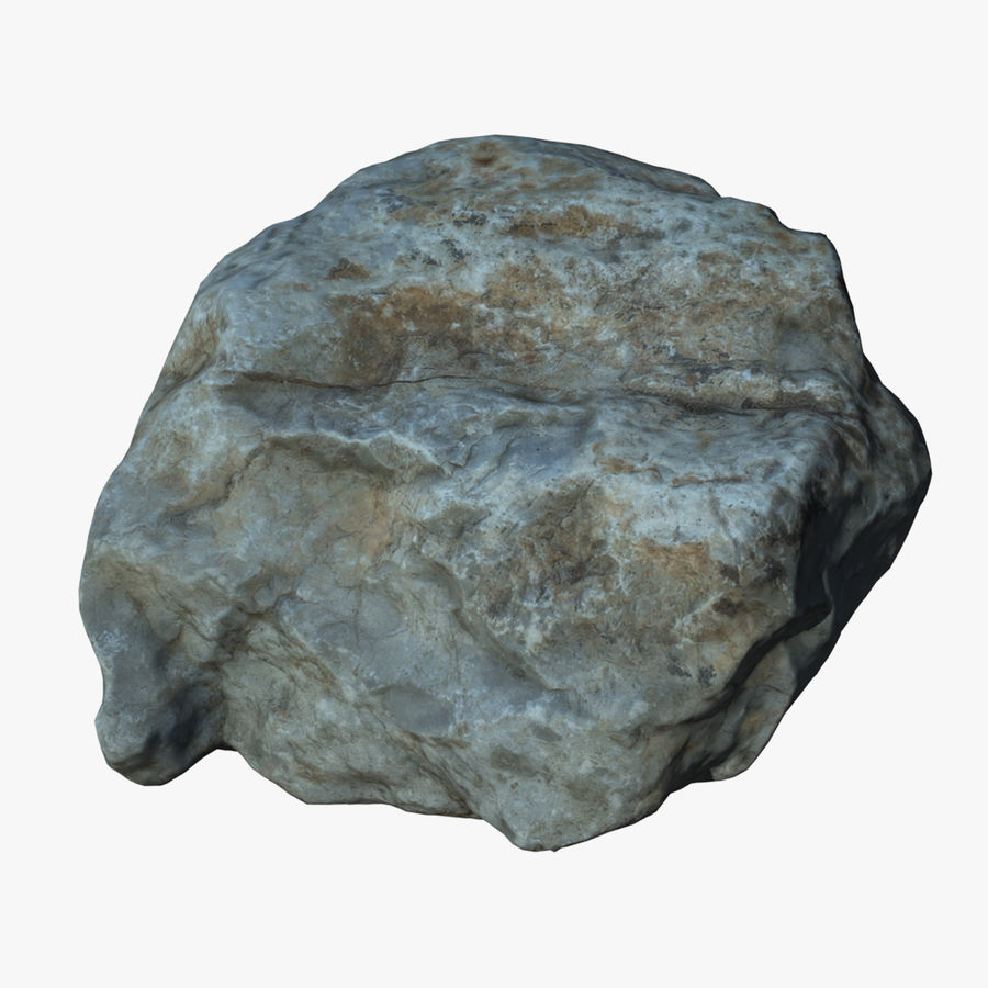 Rock Scan 021 royalty-free 3d model - Preview no. 1