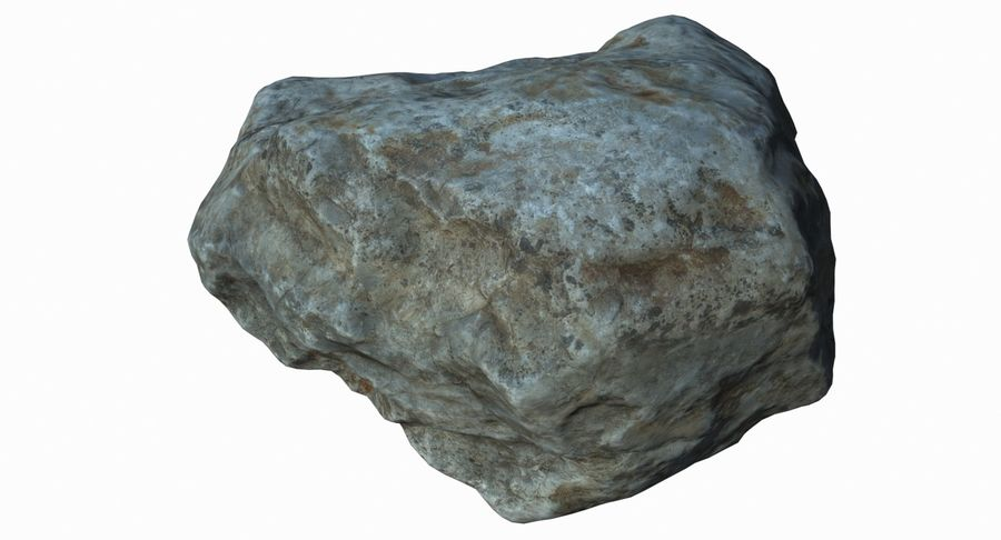 Rock Scan 021 royalty-free 3d model - Preview no. 7