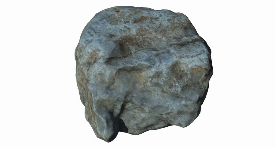 Rock Scan 021 royalty-free 3d model - Preview no. 4