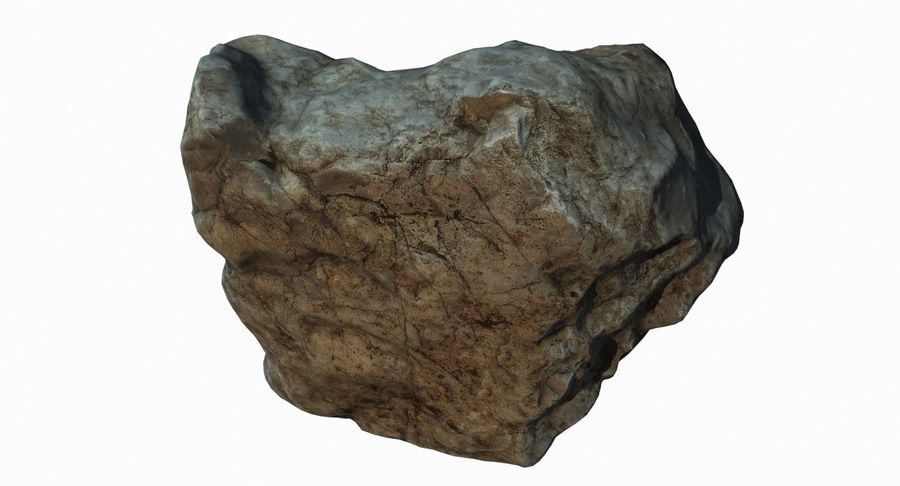 Rock Scan 021 royalty-free 3d model - Preview no. 11