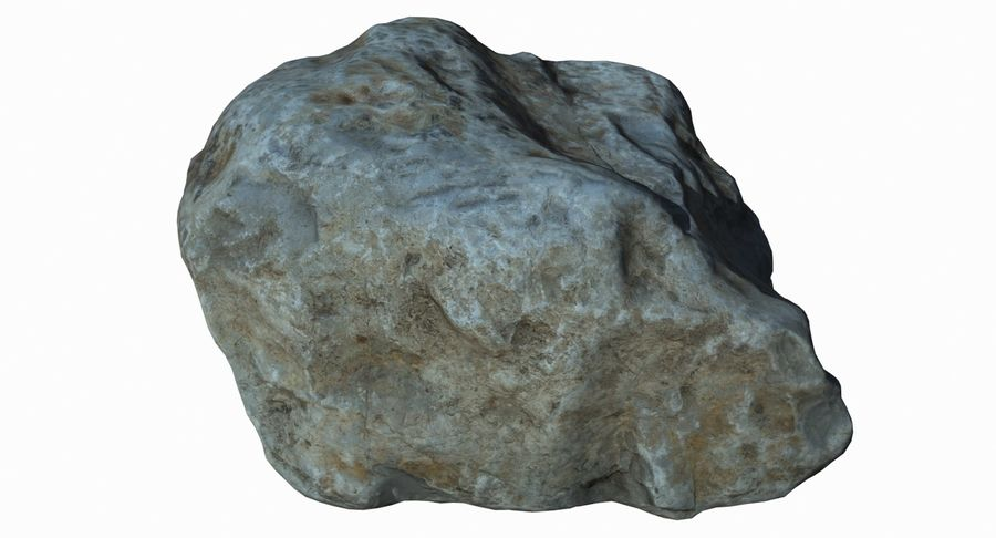 Rock Scan 021 royalty-free 3d model - Preview no. 5