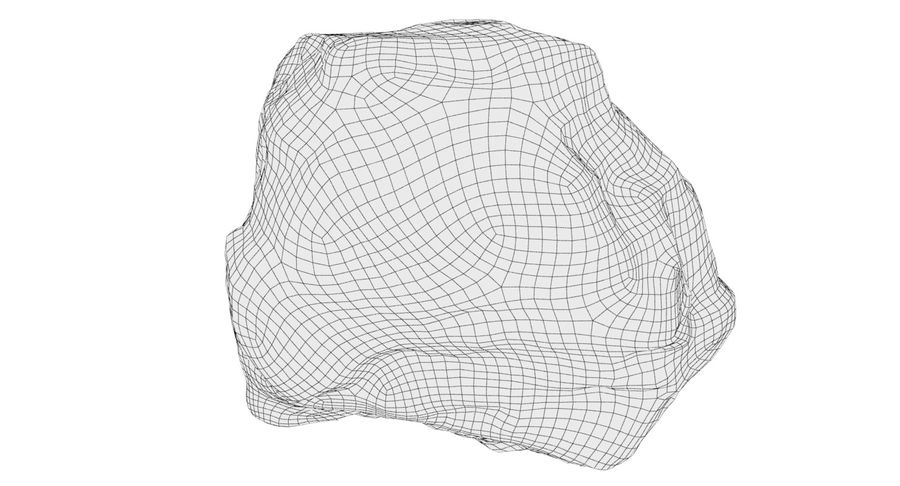 Rock Scan 021 royalty-free 3d model - Preview no. 14