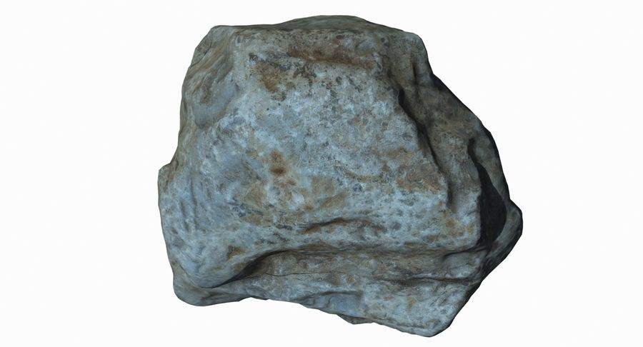 Rock Scan 021 royalty-free 3d model - Preview no. 10