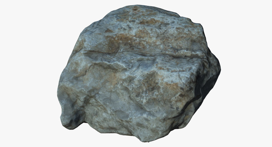 Rock Scan 021 royalty-free 3d model - Preview no. 2