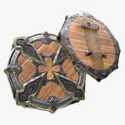 维京人的金盾精英 3d model