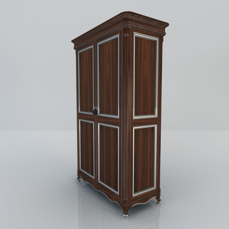 Шкаф-купе royalty-free 3d model - Preview no. 3