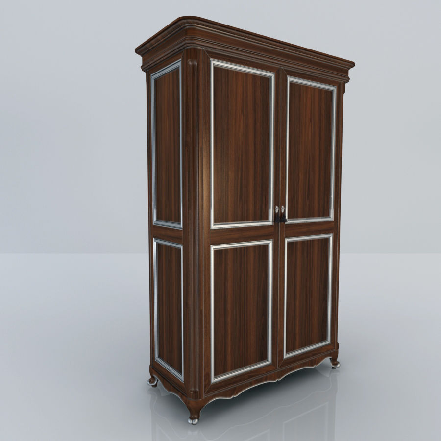 Шкаф-купе royalty-free 3d model - Preview no. 2