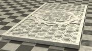 Mandala-Dekoration 3d model