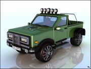 Pick-Up Car 3d model