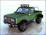 Pick-Up Car 3d model