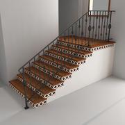 Projeto de escada 3d model