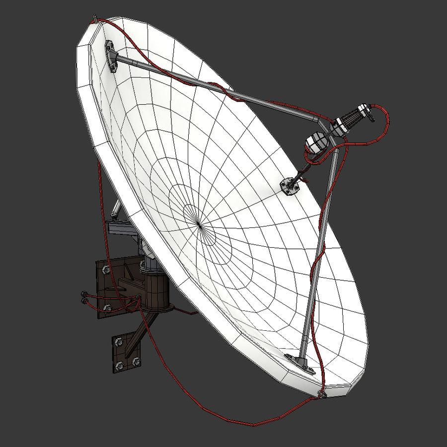 Antena parabólica royalty-free 3d model - Preview no. 6