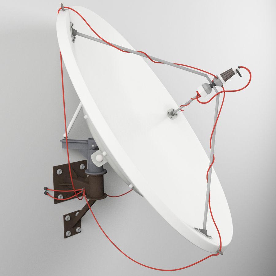 Antena parabólica royalty-free 3d model - Preview no. 2