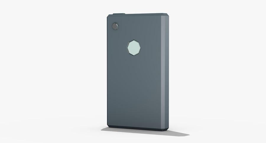 Telefono cellulare stilizzato royalty-free 3d model - Preview no. 5
