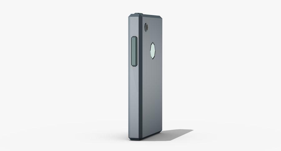 Telefono cellulare stilizzato royalty-free 3d model - Preview no. 4