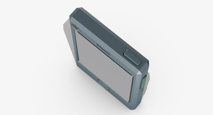 Telefono cellulare stilizzato royalty-free 3d model - Preview no. 6