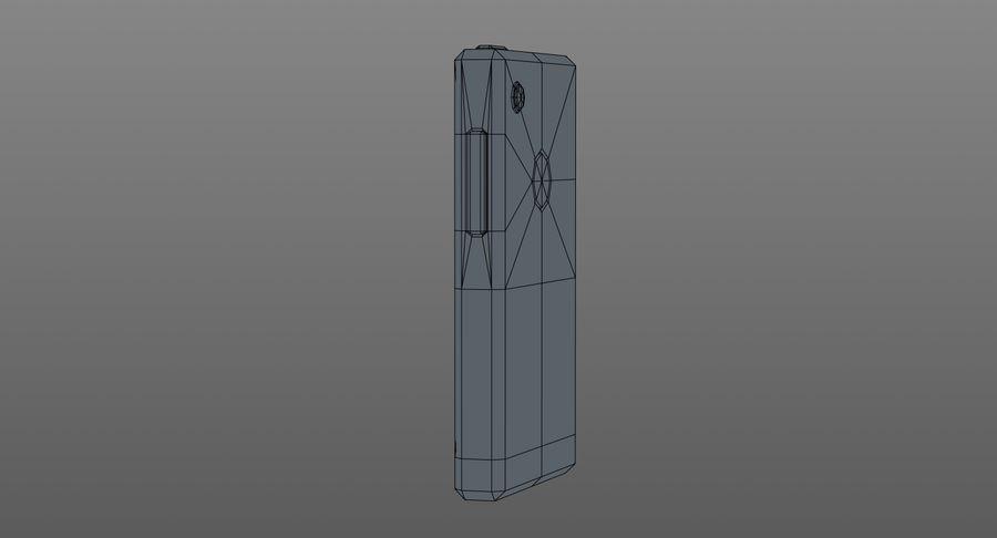 Telefono cellulare stilizzato royalty-free 3d model - Preview no. 9