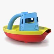 Tugboat Bath Toy Generic 3d model