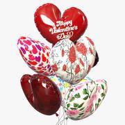 Надувные шарики 3d model