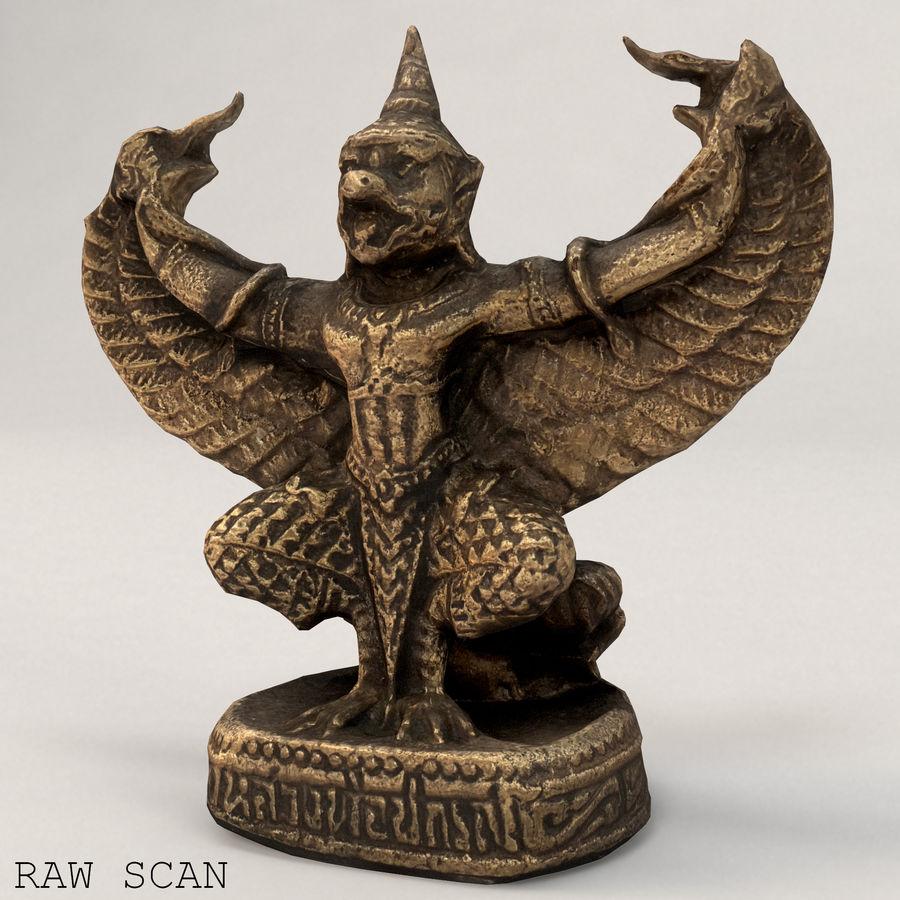 Lord Garuda royalty-free 3d model - Preview no. 8