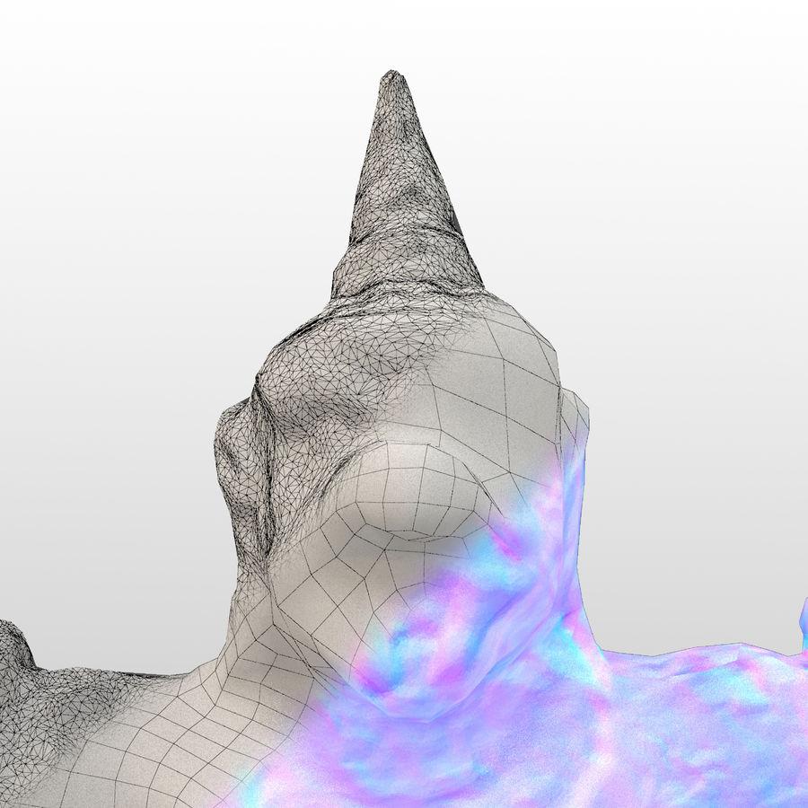 Lord Garuda royalty-free 3d model - Preview no. 7