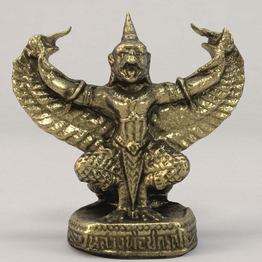 Lord Garuda royalty-free 3d model - Preview no. 3
