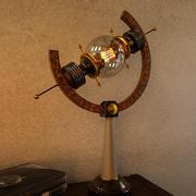 Lâmpada Steampunk 001 3d model