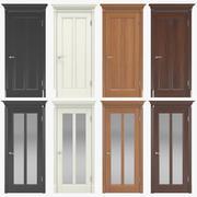 Классические межкомнатные двери 04 3d model