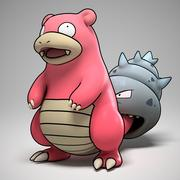 Slowbro Pokemon 3d model