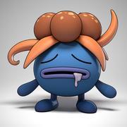 Gloom Pokemon 3d model