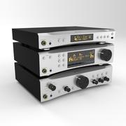 audio amplifier 3d model