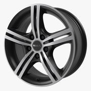 Cerchio Mak Veloce Ice Black 3d model
